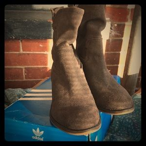 Franco Sarto gray booties from nordstrom.